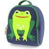 Frog Backpack, Navy and Green - Backpacks - 1 - thumbnail