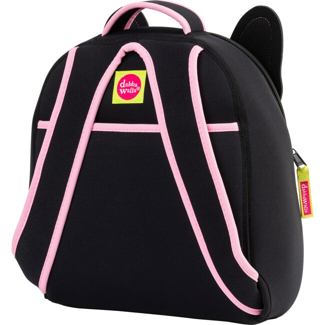 French Bulldog Backpack, Black and Pink