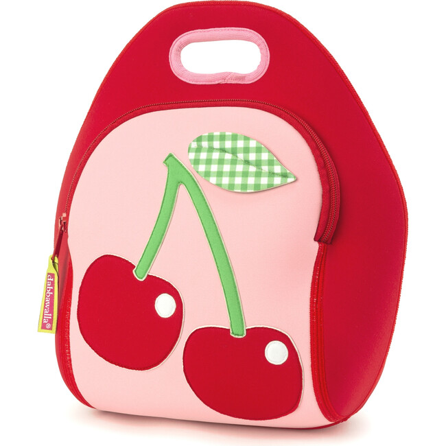 Cherry Lunch Bag, Red