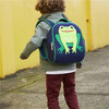Frog Backpack, Navy and Green - Backpacks - 3