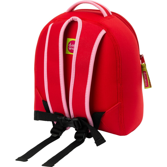 Cherry Toddler Harness Backpack, Red