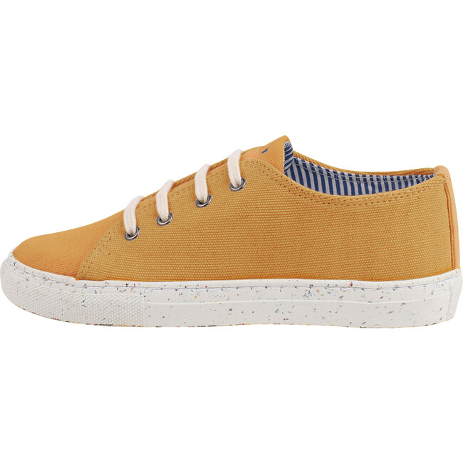 Yellow Lace-up Sneaker
