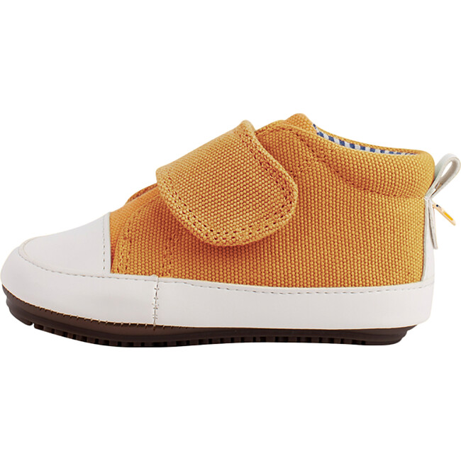 Yellow  Strap-up Bootie