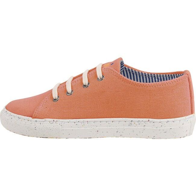 Orange Lace-up Sneaker