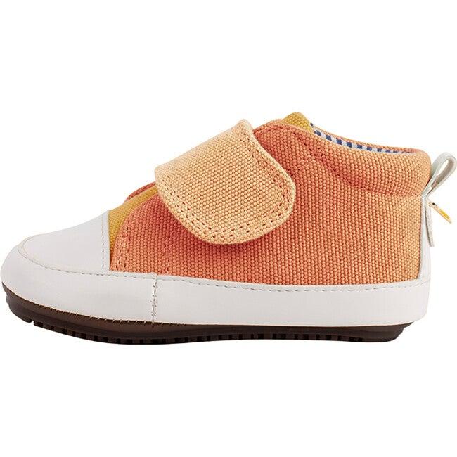Orange & Yellow  Strap-up Bootie