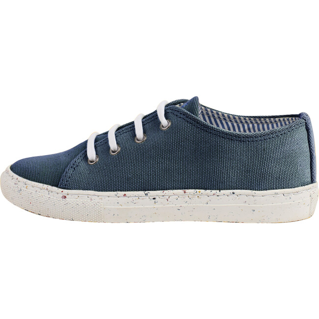 Navy Lace-up Sneaker