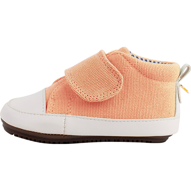 Salmon  Strap-up Bootie