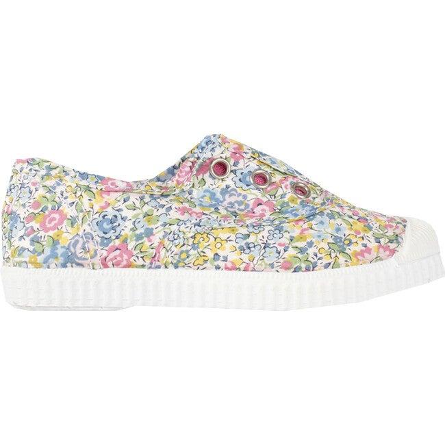 Hampton Canvas Liberty Plum Sneaker, Multifloral