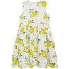 Vintage Rose Angelina Ric Rac Dress, Yellow - Dresses - 1 - thumbnail