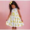 Vintage Rose Angelina Ric Rac Dress, Yellow - Dresses - 2