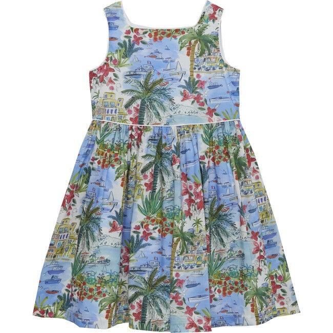 Portofino Dress, Blue