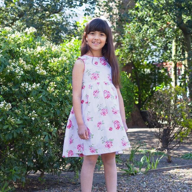 Vintage Rose Angelina Ric Rac Dress, Pink