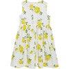 Vintage Rose Angelina Ric Rac Dress, Yellow - Dresses - 3