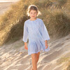 Embroidered Kaftan, Pale Blue - Cover-Ups - 2