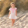 Embroidered Beach Dress, Pink - Cover-Ups - 2