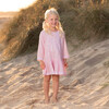 Embroidered Kaftan, Pink - Cover-Ups - 2