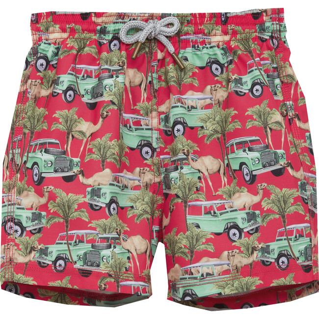 Camel Swimshorts, Red