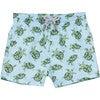 Turtle Swimshorts, Blue - Swim Trunks - 1 - thumbnail