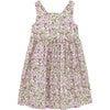 Petite Rose Angelina Cross Back Dress, Pink - Dresses - 1 - thumbnail