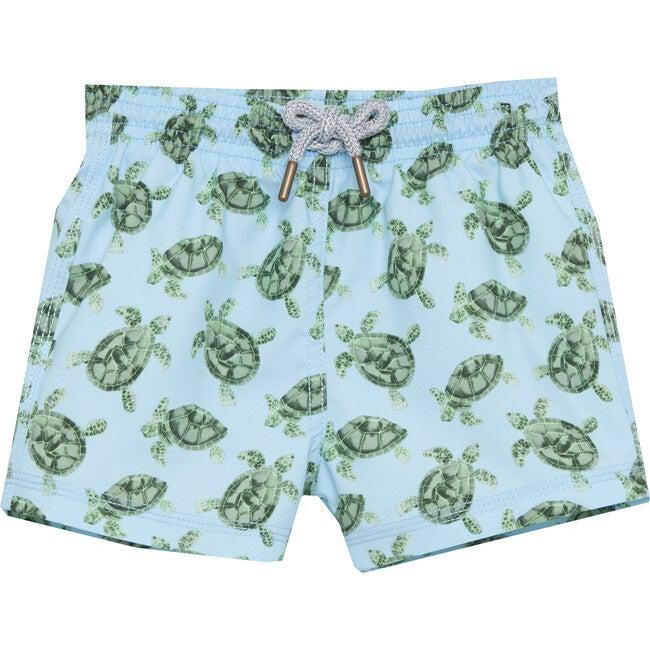 Turtle Swimshorts, Blue