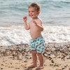 Turtle Swimshorts, Blue - Swim Trunks - 2