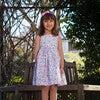Petite Rose Angelina Cross Back Dress, Pink - Dresses - 2