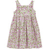 Petite Rose Angelina Cross Back Dress, Pink - Dresses - 3