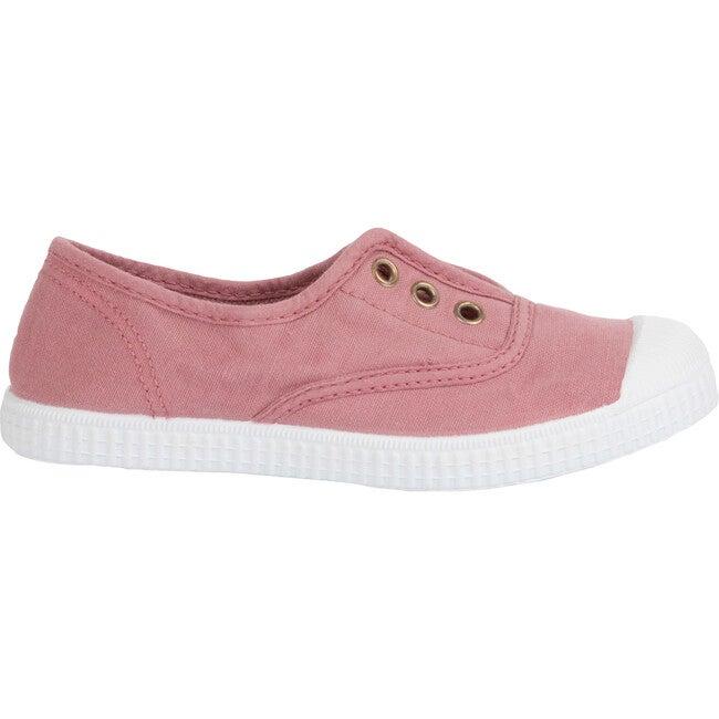 Hampton Canvas Plum Sneaker, Rosa