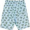 Mens Turtle Swimshorts, Blue - Swim Trunks - 5