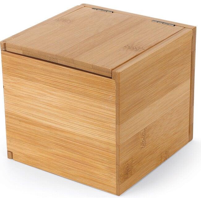 Tuck Bamboo Storage Box, Natural