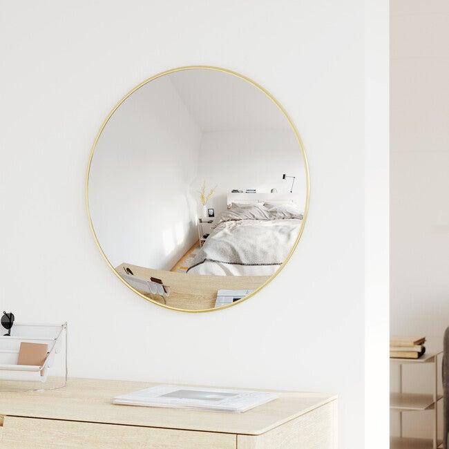 Convexa Mirror, Brass