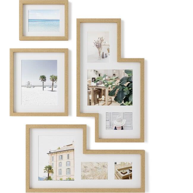 Mingle Gallery Photo Display, Natural