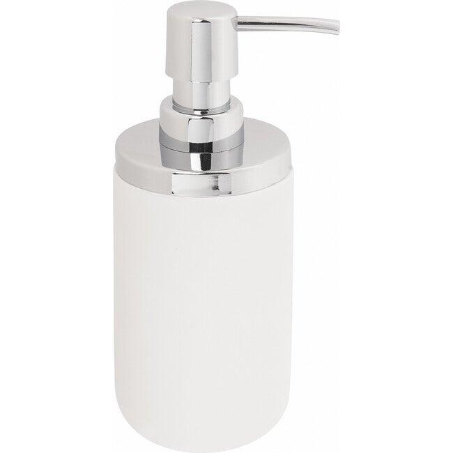 Junip Soap Pump, White/Chrome