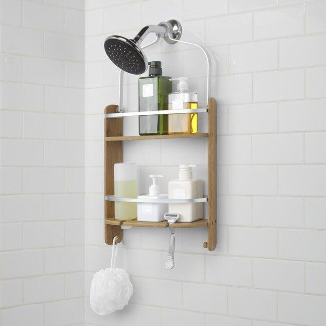 Aquala Shower Caddy, Natural