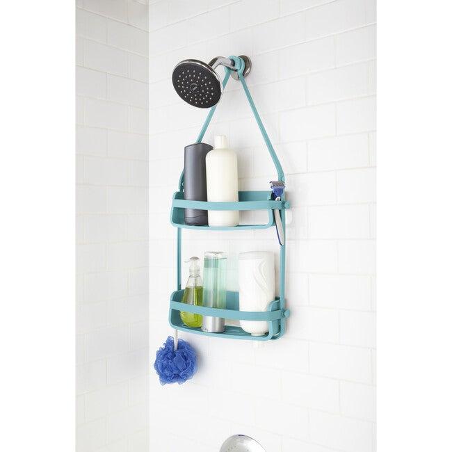 Flex Shower Caddy, Surf Blue