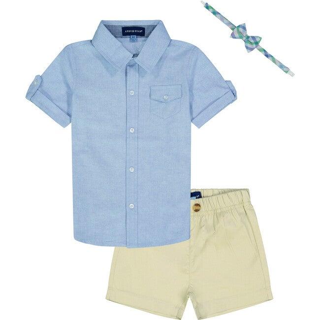 Shorts Set, Light Blue