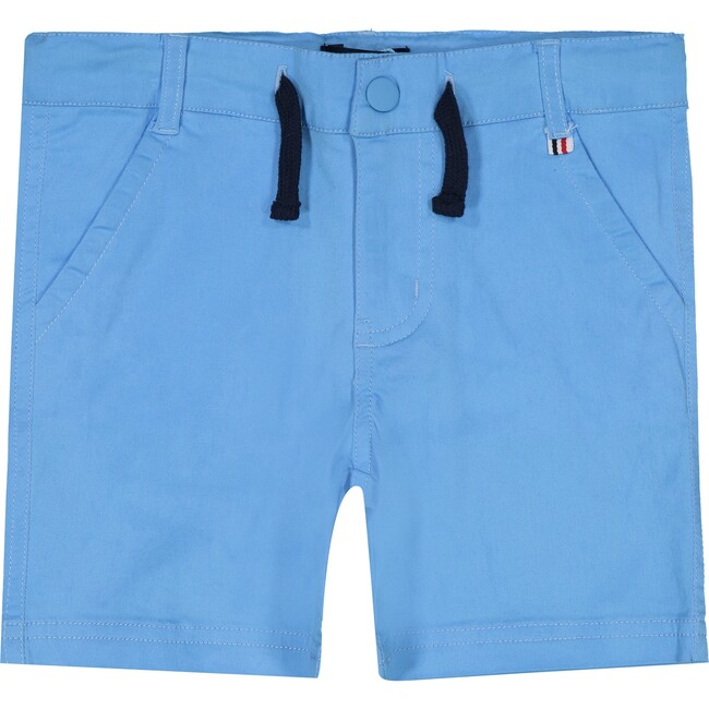 Twill Shorts, Light Blue