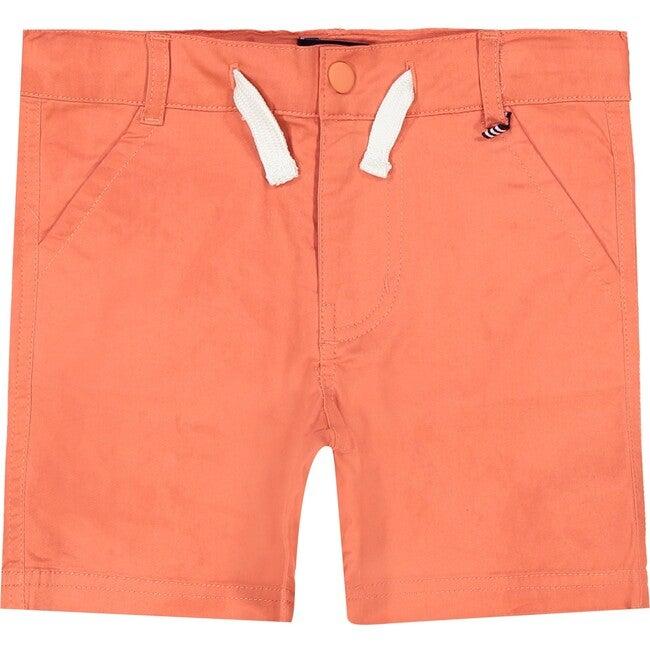 Twill Shorts, Orange