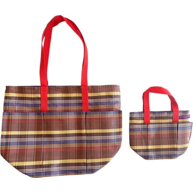 Marron Garden Pockets Galore Bag