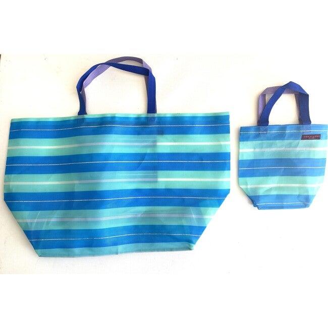 Aqua Oceans Oversized Beach Bag