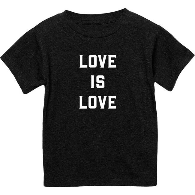 Exclusive Love is Love T-shirt, Charcoal Black