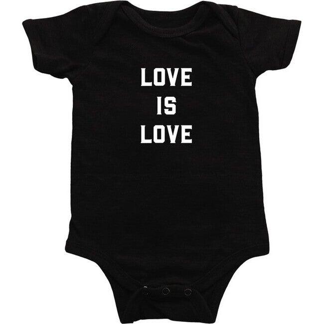 Exclusive Love is Love Bodysuit, Black