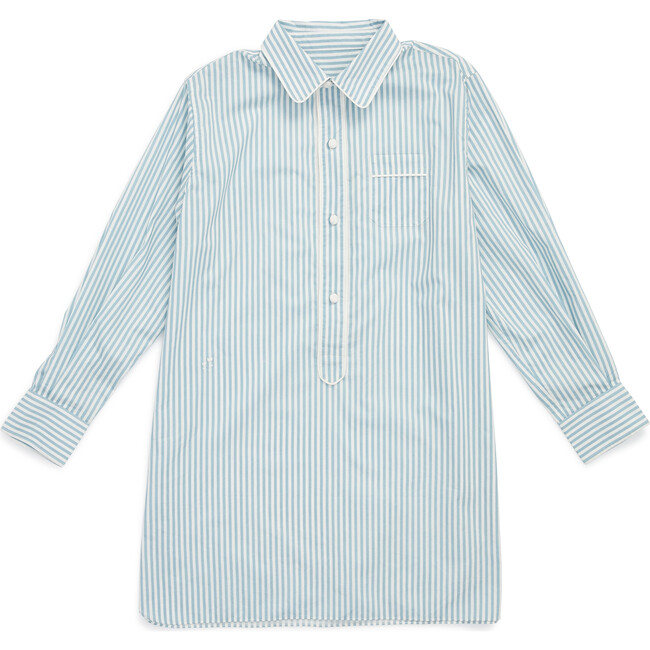 Linnet Night Shirt Sky Stripe