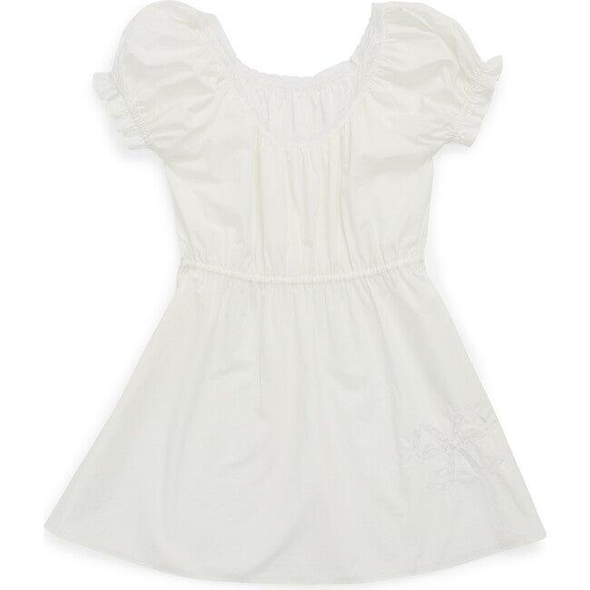 Ava Dress, Chalk