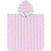 Kai Beach/Bath Poncho, Fluo Pink/Island Green - Cover-Ups - 1 - thumbnail