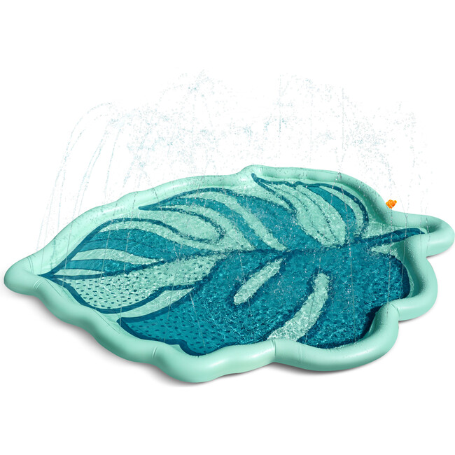 The Tropical Palm Sprinkler Splash Pad