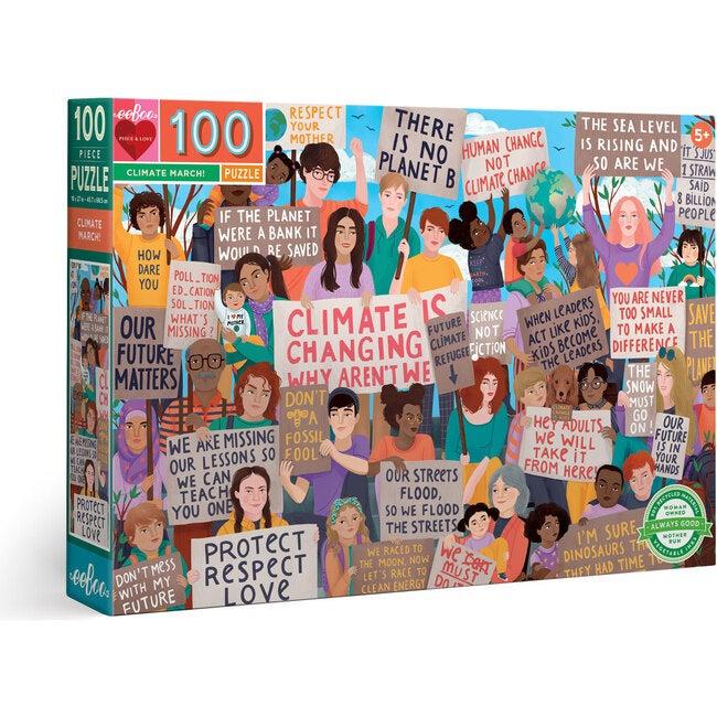 Climate March! 100-Piece Puzzle - Puzzles - 1