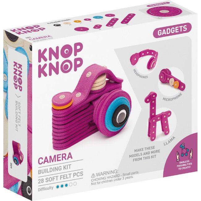 Camera 28-Piece Felt Building Kit