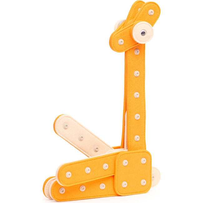 Giraffe 29-Piece Felt Building Kit
