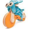 Sportbike 68-Piece Felt Building Kit - STEM Toys - 3